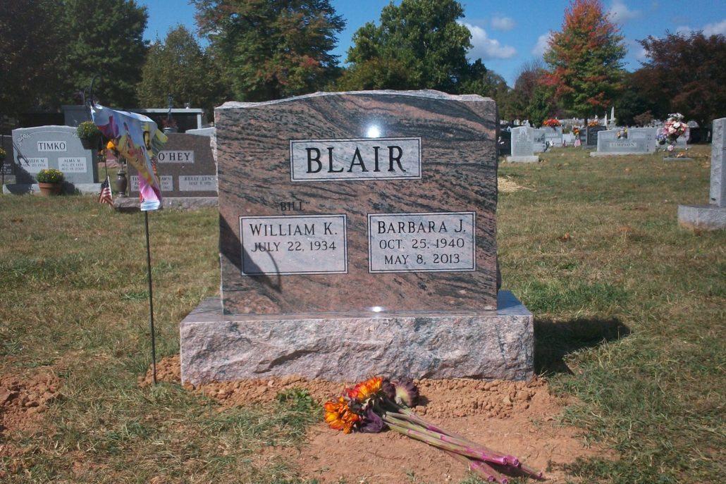 Family Monument Leesburg, VA