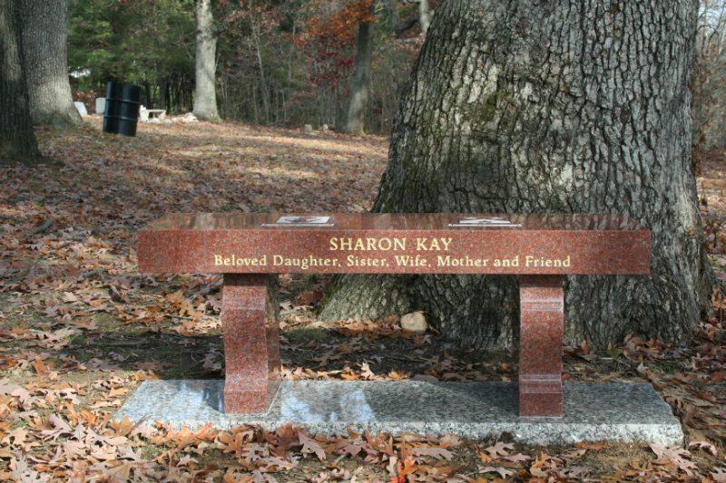 Cemetery Memorial Bench Manassas, VA