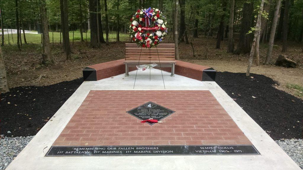 1st Battalion, 1st Marines Veteran Memorial Triangle, VA