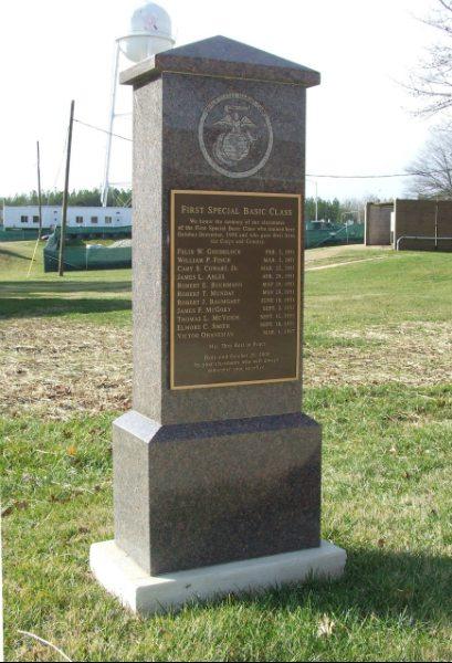 First Special Basic Class Memorial Quantico, VA