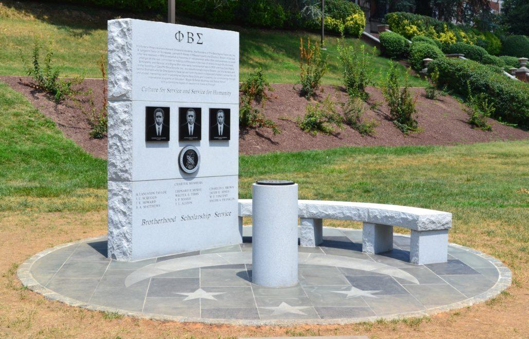 Phi Beta Sigma Memorial at Howard University