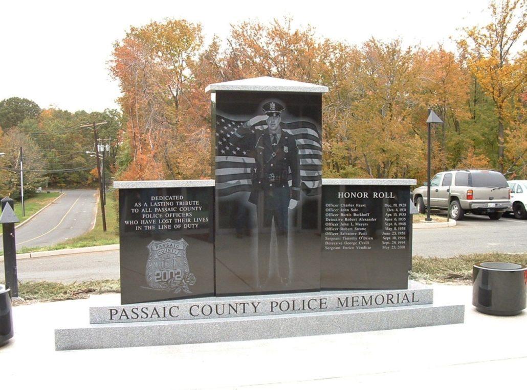 Passaic County Police Memorial Passaic County, NJ