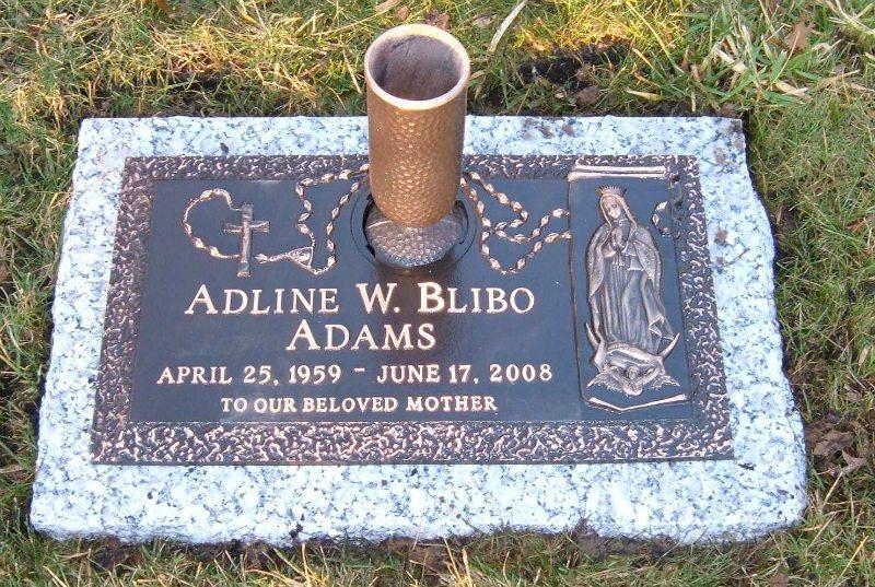 Kline Memorials, Individual Bronze Memorial, 18