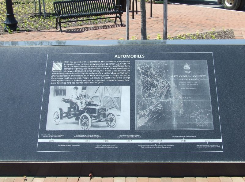 Potomac Yard Civic Monument Arlington County, VA