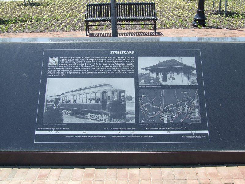 Potomac Yard Civic Monument Alexandria, VA