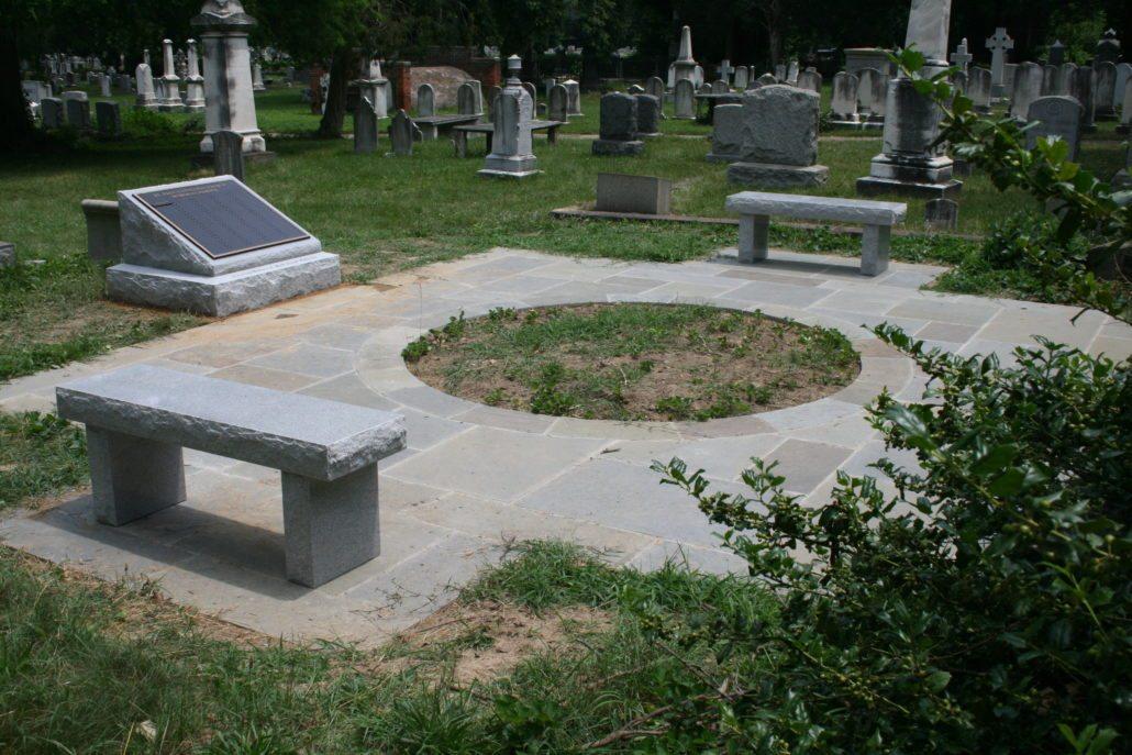 Cremation Garden at St Paul's Episcopal Church Alexandria, VA