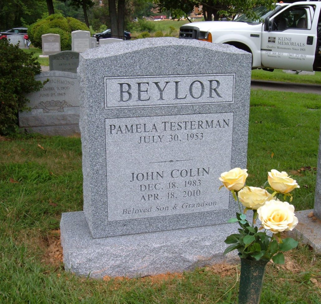 Family Monument at Fairfax City Cemetery
