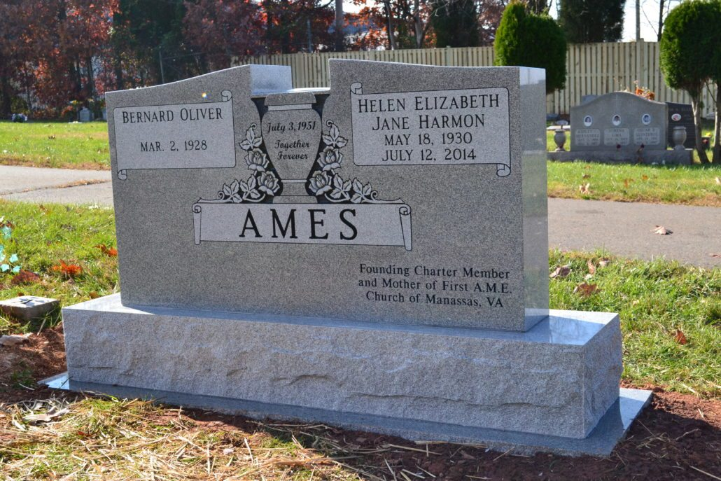 Family Gravestone Marker Manassas, VA
