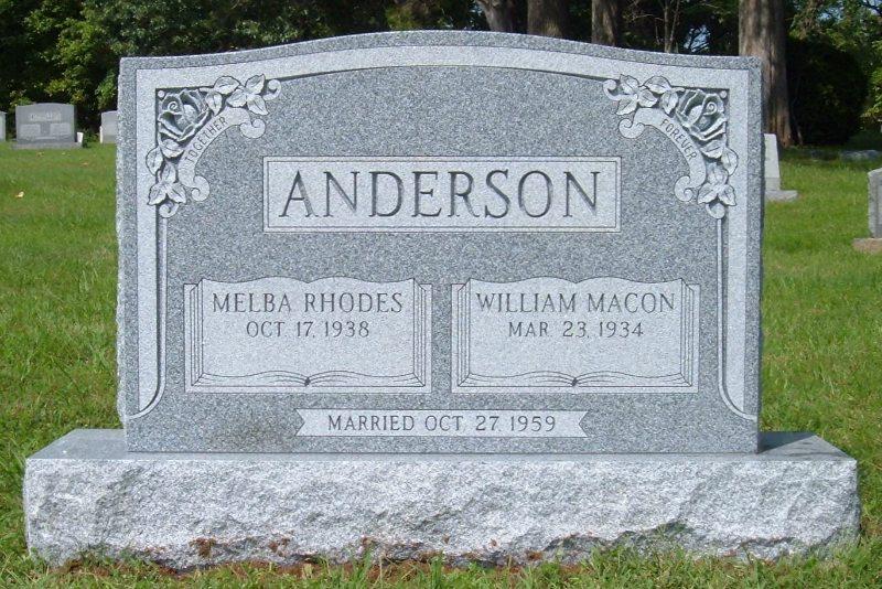 Family Headstone Marker Manassas, VA