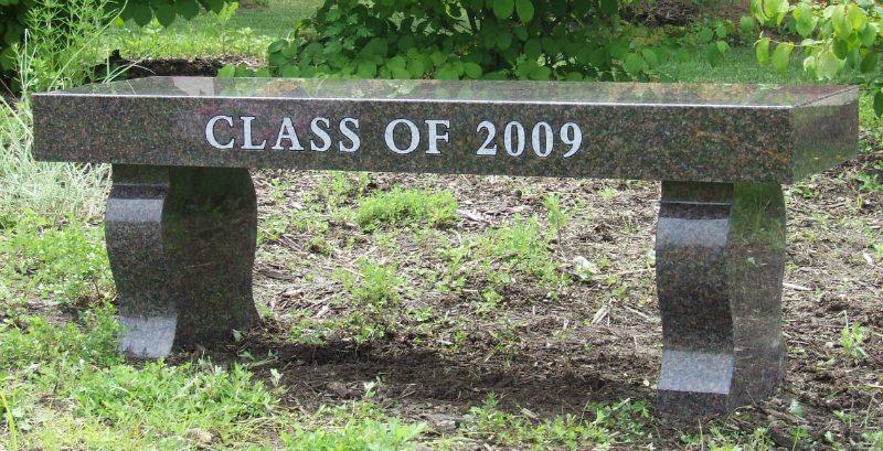 Class Gift Granite Bench Manassas, VA
