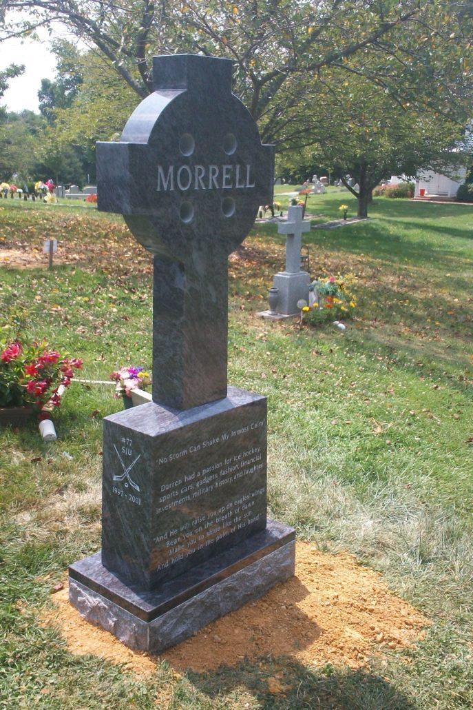Carved Cross Memorial Fairfax Station, VA