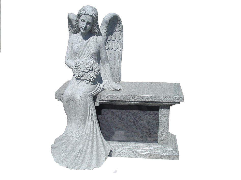 Cremation Memorial with Angel Arlington County, VA
