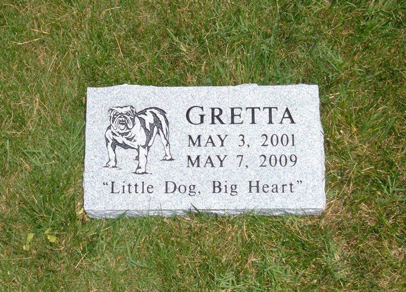 Custom Pet Memorial Fairfax County, VA