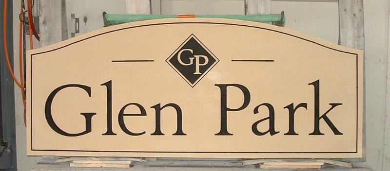 Glen Park Signage by Kline Memorials