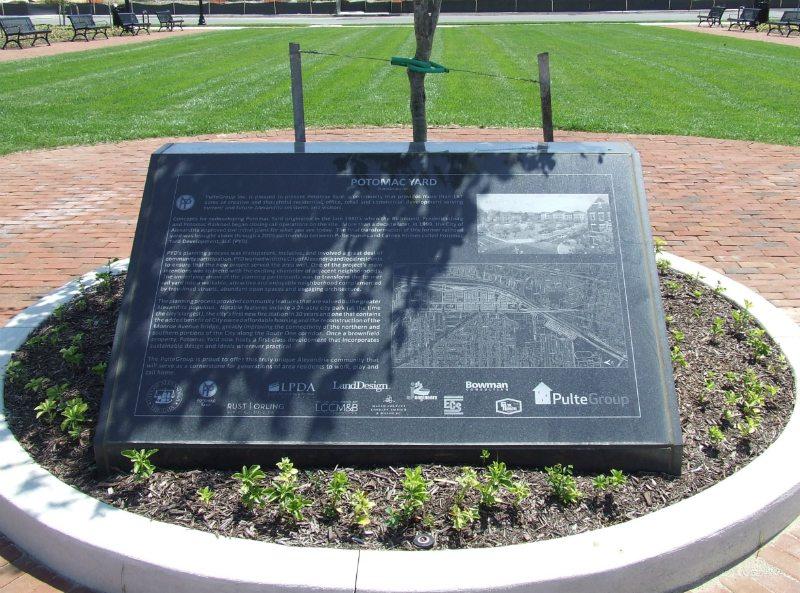 Potomac Yard Civic Memorial Arlington County, VA