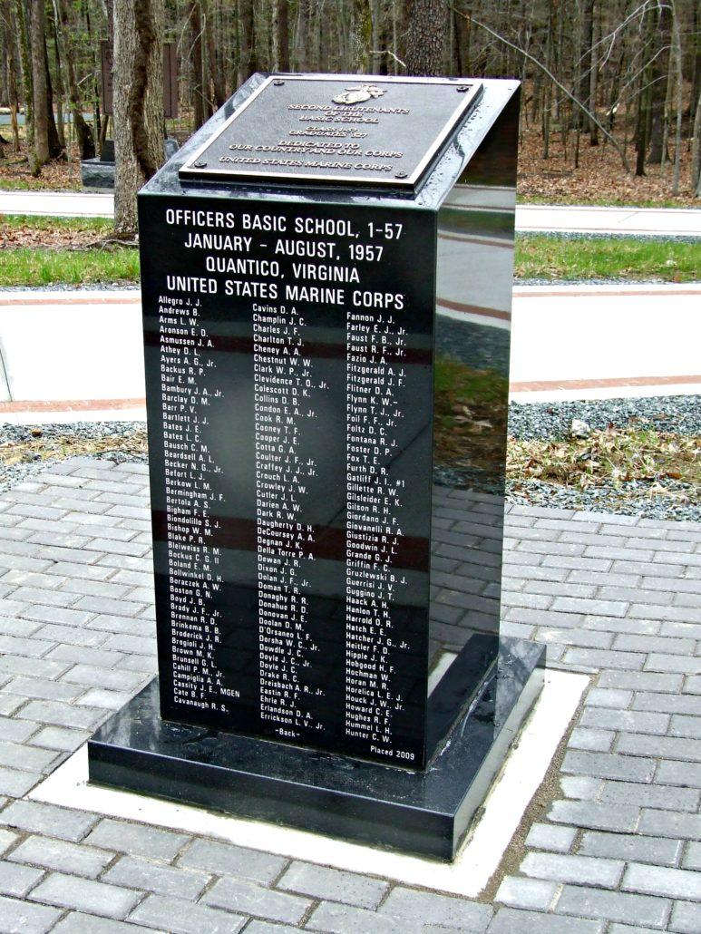 Officers Basic School Marine Corp Memorial Quantico, VA