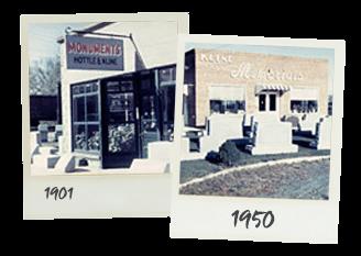 History of Kline Memorials