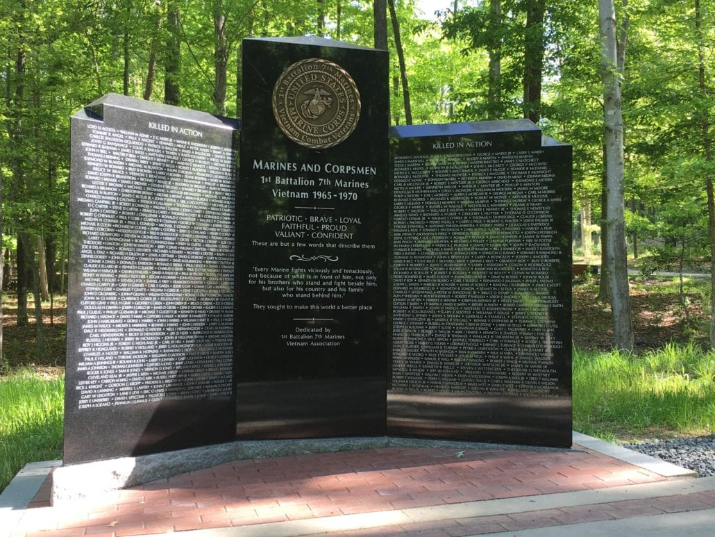 1st Battalion, 7th Marines Veterans Memorials Triangle, VA