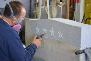 Cemetery Memorial Fabrication Arlington County, VA