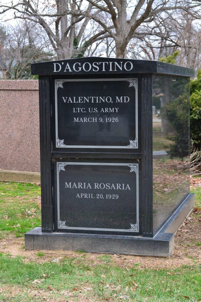 Family Mausoleum at Columbia Gardens Cemetery Arlington, VA