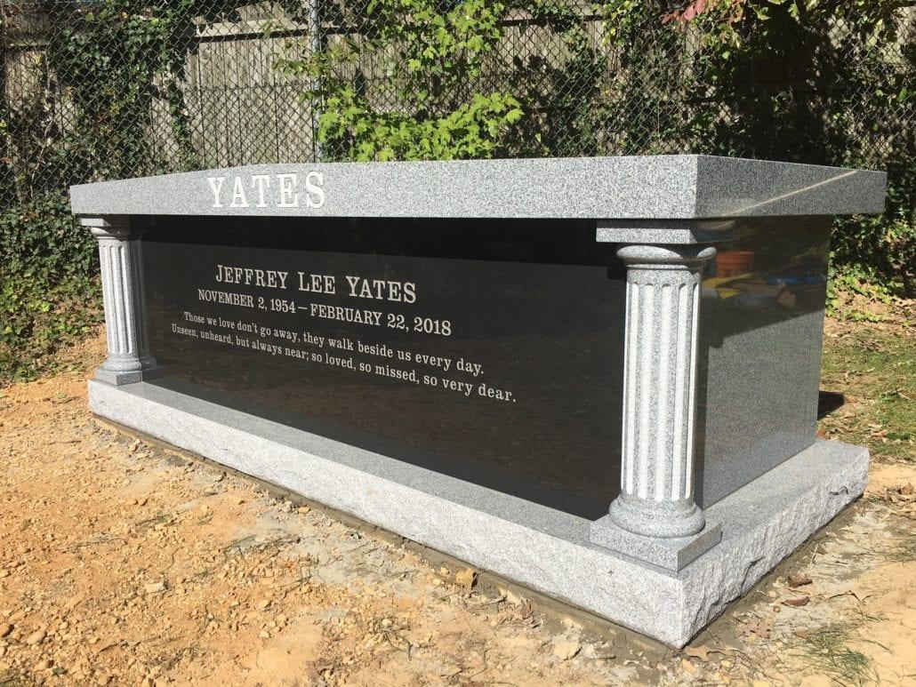 Mausoleum at Ivy Hill Cemetery Alexandria, VA