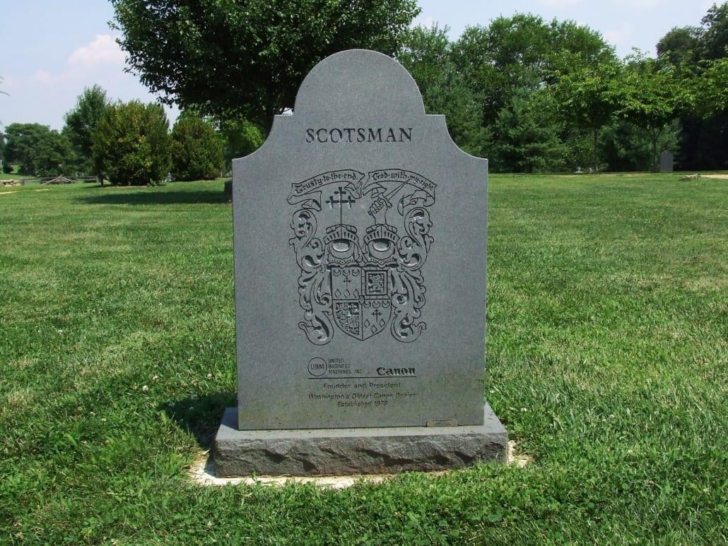 Slate Headstone Fairfax County, VA