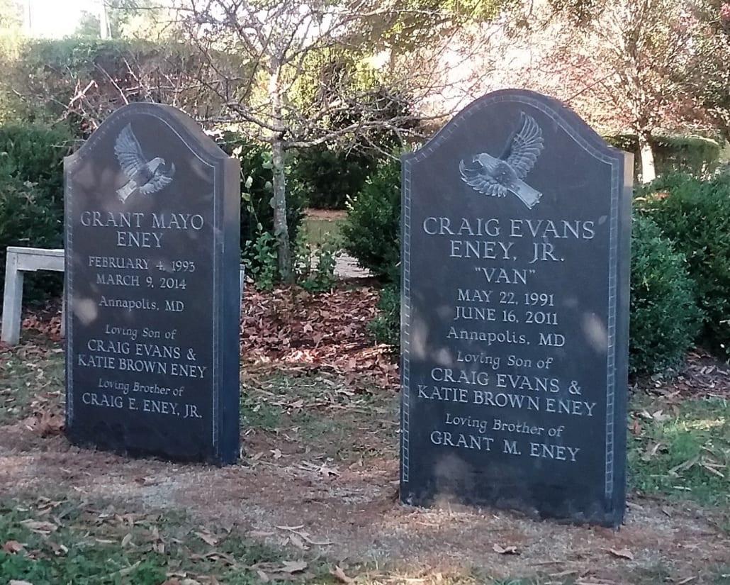 Slate Memorials Arlington County, VA