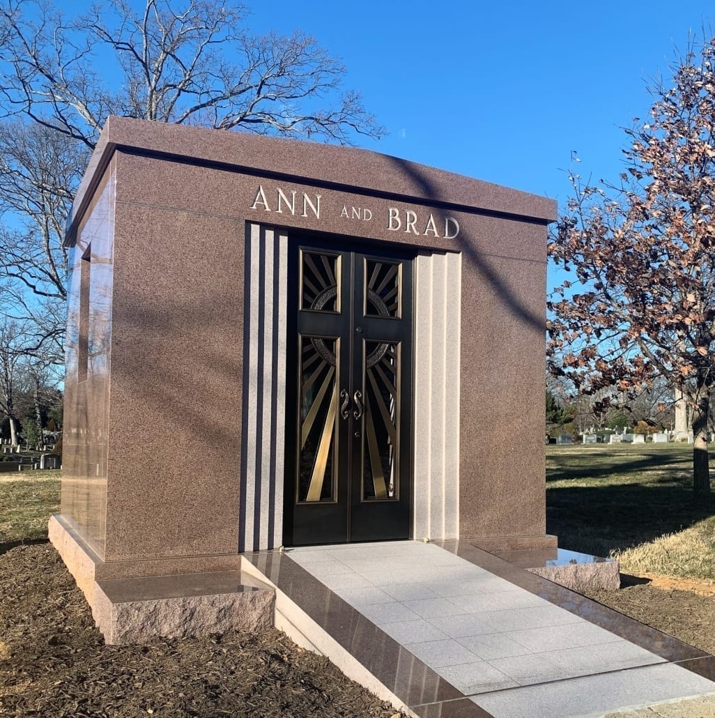 Mausoleum at Columbia Gardens Cemetery Arlington County, VA