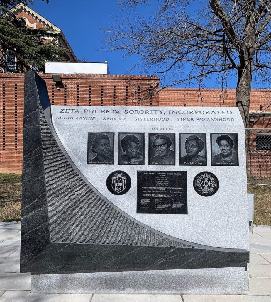 ZETA PHI BETA Centennial Monument Washington DC